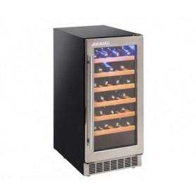 Frigo vetrina per Vino. Capacità 12 bottiglie - Dim.cm. 38x60