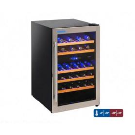 Frigo vetrina per Vino. Capacità 14 bottiglie - DOPPIA TEMPERATURA - Dim.cm. 49