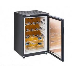 Frigo vetrina per Vino. Capacità 22 bottiglie - Dim.cm. 50x59x78