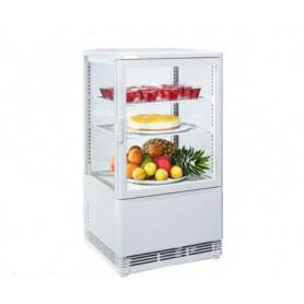 Espositore refrigerato da banco. Lt. 58 - Dim.cm. 42