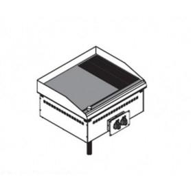 Fry Top elettrico da incasso. Piano cottura liscio e rigato - 7