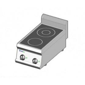 Cucina elettrica ad INDUZIONE. Dim.cm. 35x70x85H. - Assorbimento 7 Kw.