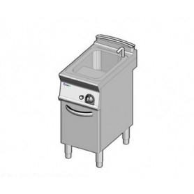 Cuocipasta ad 1 vasca da lt. 23 a GAS. Dim.cm. 40x70x85H. - Potenza termica 10 Kw.