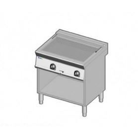 Grill elttrico con acqua e griglia inox. Dim.cm. 80x70x85H. - Assorbimento 10.8 Kw.
