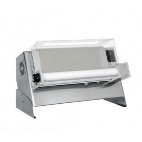 Stendipizza monorulli in inox meccanico per pizza diametro Ø 30 cm.
