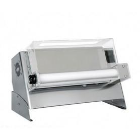 Stendipizza monorulli in inox meccanico per pizza diametro Ø 45 cm.