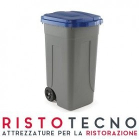 Pattumiera Polietilene Lt. 100 • Per raccolta differenziata