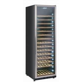 Vetrina refrigerata per vino, capacità 500 lt. (145 bottiglie 0,75 lt.). Temp. +5°/+22°C