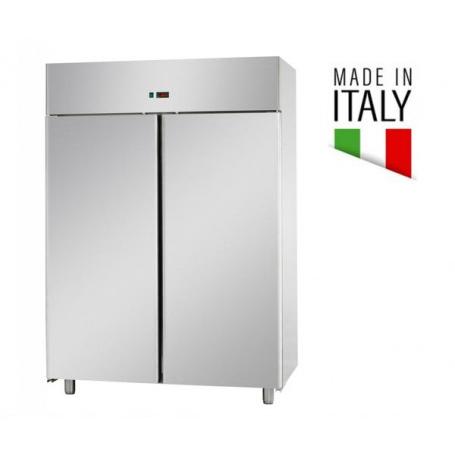 Armadio Refrigerato 1400 Lt. Acciaio inox. 0°/+10°C - Dim.cm. 142x80x201H * MADE IN ITALY