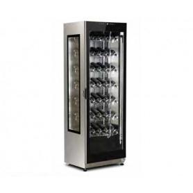 Vetrina refrigerata per vino, capacità 376 lt. Temp. +5°/+15°C