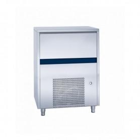 Fabbricatore di ghiaccio a cubetto pieno. Produzione giornaliera 100 Kg - Contenitore 60 Kg.