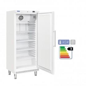Armadio refrigerato in ABS, temperatura +2°C/+8°C. Capacità 400 litri.