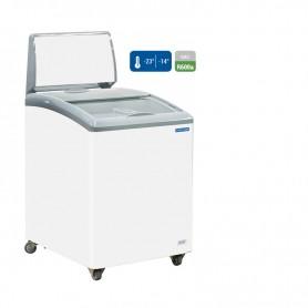 Congelatore a pozzetto. Capacità 150 lt. Temp. -14°/-23°C.