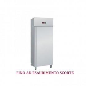 Armadio frigo Refrigerato 700 Lt. Acciaio inox. -2°/+8°C * OFFERTA SPECIALE *
