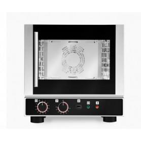 Forno elettrico ventilato con umidificatore. 4 GN 1/2 - Dim.cm. 46x51