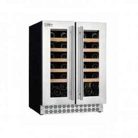 Frigo vetrina per Vino. Capacità 40 bottiglie - Dim.cm. 57x59,5x82H