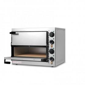 Forno Pizza elettrico 2 camere. Capacità 2 pizza Ø 33 cm. - Kw. 2.4