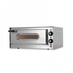 Forno Pizza elettrico 1 camera. Capacità 1 pizza Ø 33 cm. - Kw. 1.6