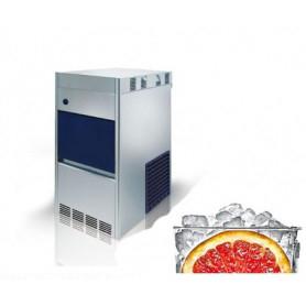 Fabbricatore di ghiaccio granulare. Produzione giornaliera 100 Kg - Contenitore 20 Kg.