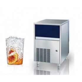 Fabbricatore di ghiaccio Nugget. Produzione giornaliera 85 Kg - Contenitore 20 Kg.