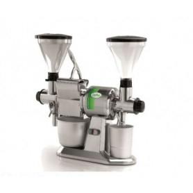Macina Caffé doppio e Grattugia - Produzione oraria formaggio 50 Kg. - Produzione oraria Caffè/Pepe 10 Kg.